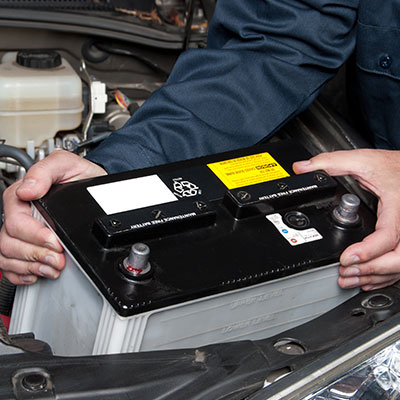 Car Battery Installation - Plain City, Ohio