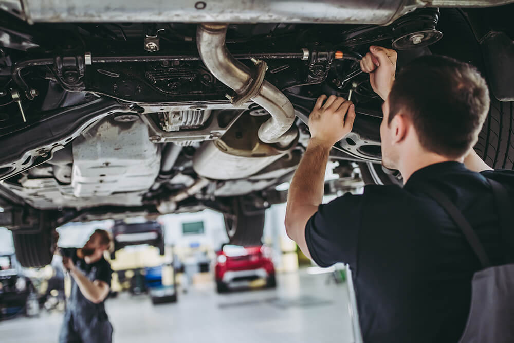 What Causes Undercarriage Rust?